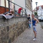 Verschönerung Geländer Badergraben