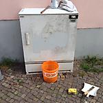 Grafiti auf Stromkästen