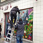 Kunstbilder in der Wenceslaigasse
